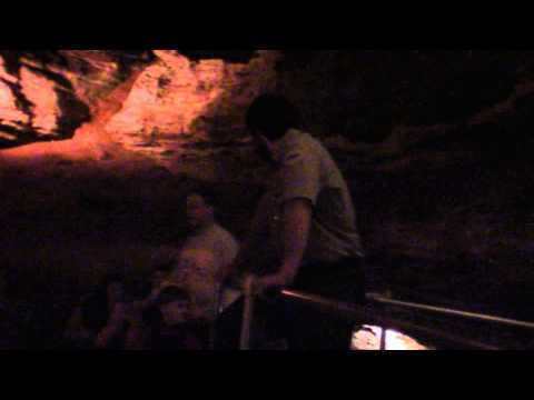 Silver Dollar City's Marvel Cave Tour 2013