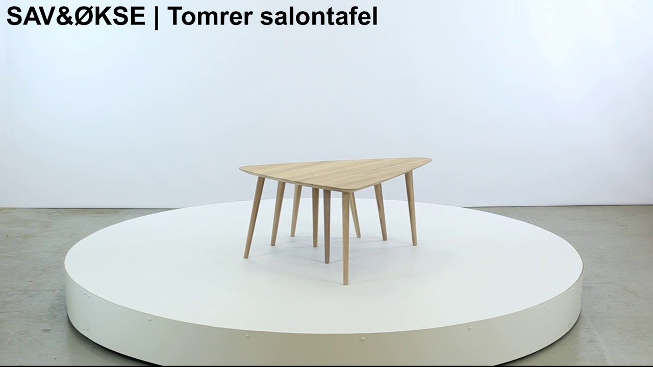 Salontafel Design On Stock.Sav Okse Tomrer Coffee Table Round 70 Beech Matt Lacquered Sav