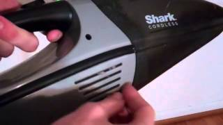 Shark Portable Vaccum Review (DO NOT BUY) 12 Volt Cordless Vacuum (SV66)