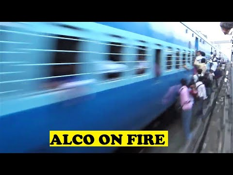 ALCO Kochuveli Amritsar Honks Rips Crowded Mumbai Ahmedabad