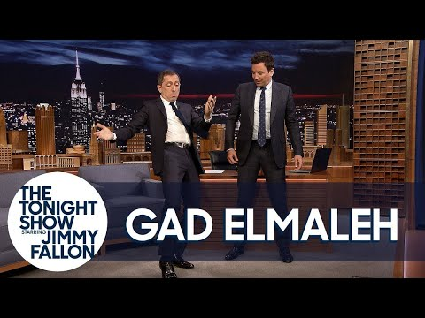 Gad Elmaleh Teaches Jimmy the Moroccan Hip Thrust