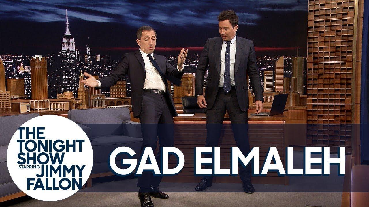 Download Gad Elmaleh Teaches Jimmy the Moroccan Hip Thrust