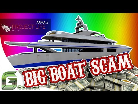 ARMA 3: Project Life - Big Boat Scam (Badly Narrated Role-Play Video)