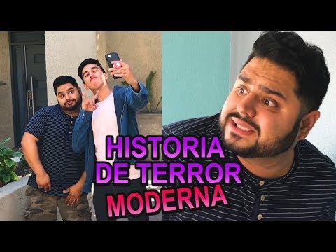 UNA HISTORIA DE TERROR MODERNA *morí del miedo* ft El Guzii  YoSoyGil