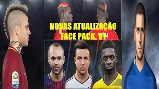 Pack Face Pes 2018 Neymar/pogba/hazard/vidal PC
