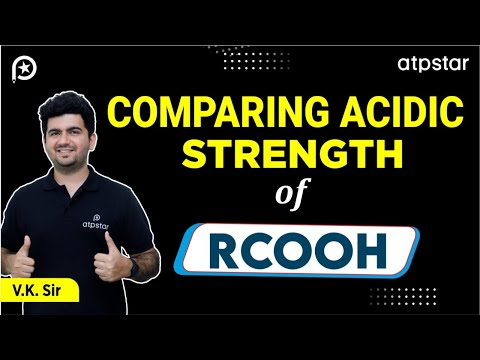 Acidic strength of carboxylic acids -NEET/JEE Advanced || Mains||CBSE (Hinglish)