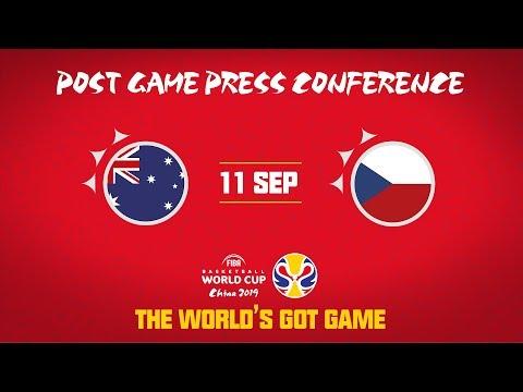 Australia v Czech Republic - Press Conference - FIBA Basketball World Cup