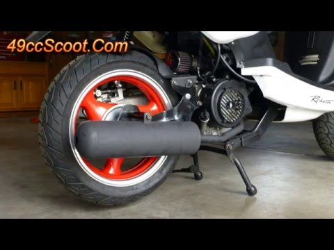 How To Build A Homemade Scooter Muffler For Less Than