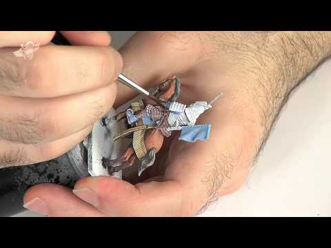 Painting Samurai Cavalry from Wargames Factory... Part 3