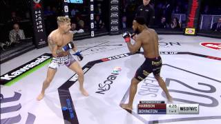 #WSOFNYC: Andre Harrison vs. Bruce Boyington Full Fight