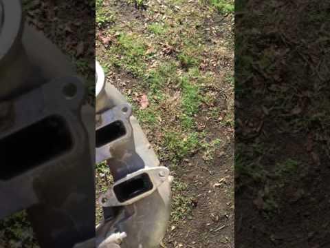 Sinister Diesel Intake Resonator Delete Plate 11-15 GM 6.6L Duramax Diesel LML