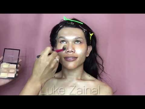 SECRET TECHNIQUE !!!! Pageant MakeUp Tutorial.