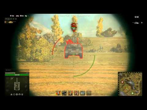 world of tanks penetration spots mod