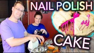 Baking a CAKE with NAIL POLISH