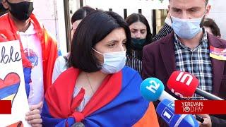 Հայաստանում ԵՄ դեսպանի դիրքորոշումը հայանպաստ է. ցուցարարները հանդիպել են ԵՄ դեսպանին