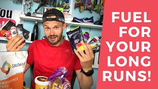 FUEL for RUNNING LONG DISTANCE when MARATHON TRAINING! DON'T hit the WALL!!