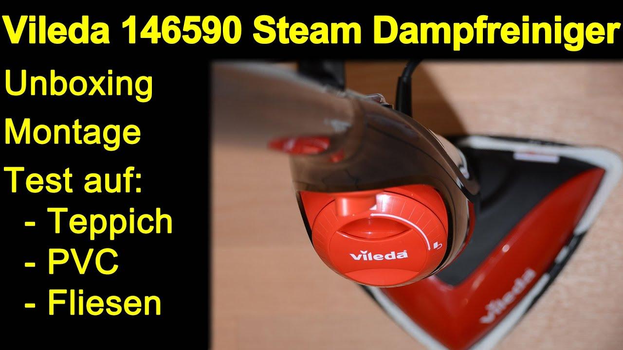 Vileda Steam Dampfreiniger 146574