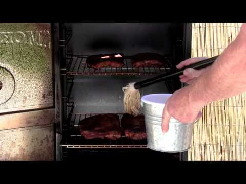 Best of the West Smoked Ribs on a Vertical Smoker recipe