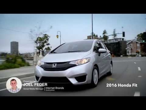 2016 Honda Fit Review Ratings Specs Prices And Photos The Car Connection