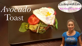 Avocado Toast - Super Fast Tasty Meal