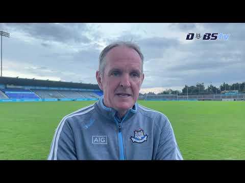 Dublin Senior Hurling manager Mattie Kenny looks ahead to Cork test
