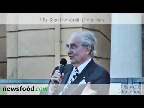 Philippe Daverio e Gualtiero Marchesi, Alma Viva 2013, la Reggia di Parma a Colorno