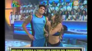 Esto es Guerra: Melissa Loza piropea a los chicos - 05/03/2013