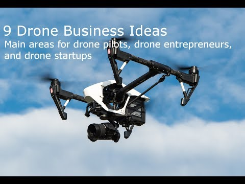 9 Essential Drone Business Ideas For Drone Pilots, Drone Entrepreneurs, And Drone Startups