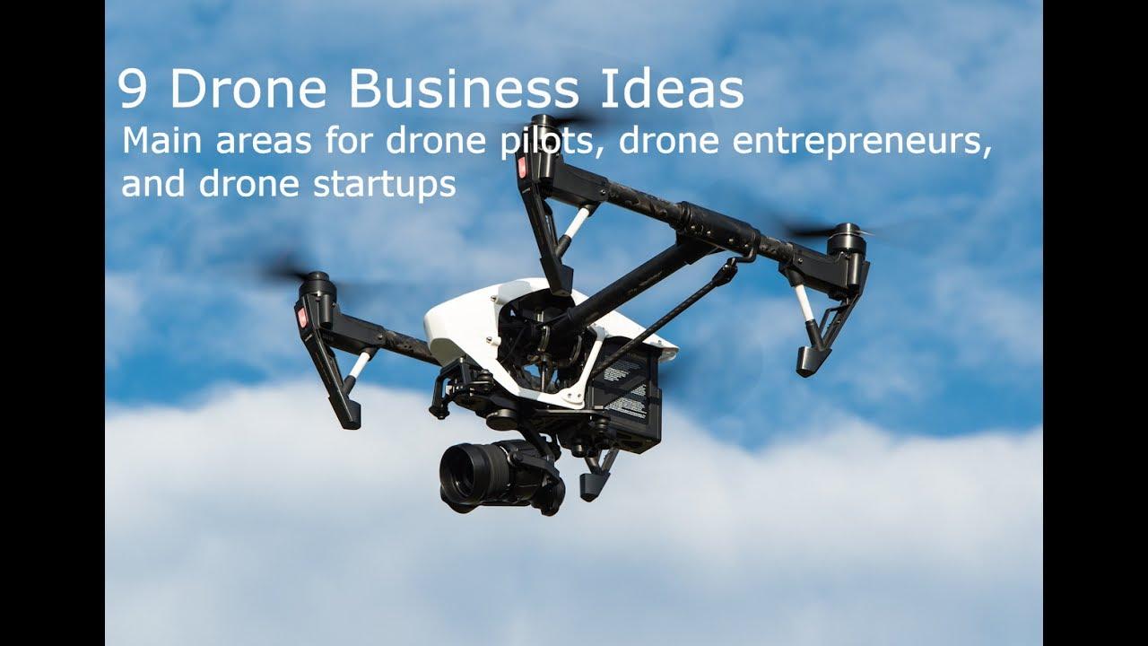 9 essential drone business ideas for drone pilots, entrepreneurs