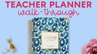 Teacher Planner Walk-Through by BERTEAU & Co.