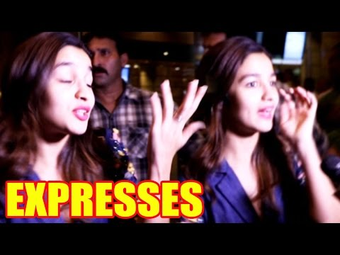 Alia Bhatt Expresses Her Happiness On The Success Of Dream Team Concert!