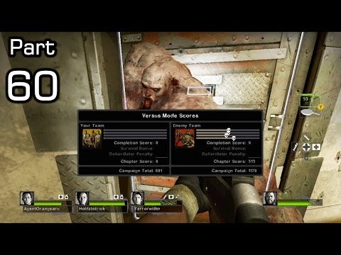 L4D2 Vs: Funny/Fail/Win Moments - 60 - Captain Levi Vs Tank