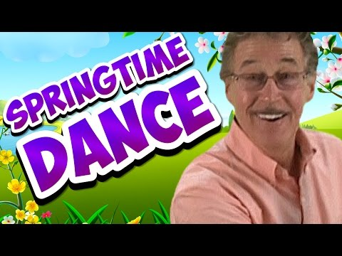 Brain Breaks | Calendar Song | Springtime Dance | Jack Hartmann