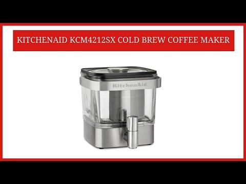 KitchenAid Cold Brew Coffee Maker    KitchenAid KCM4212SX Cold Brew Coffee Maker Review