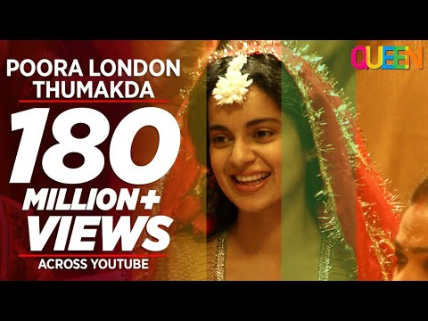 Queen: London Thumakda Full  Song  Kangana Ranaut, Raj Kumar Rao