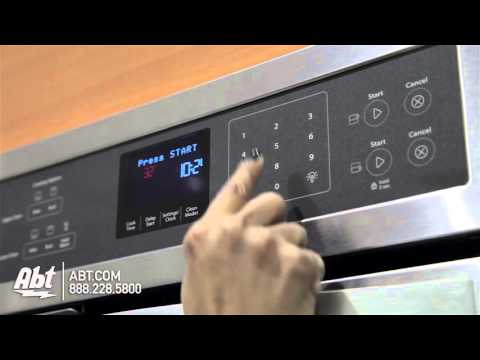 Whirlpool 24 Stainless Steel Electric Double Wall Oven WOD51ES4ES - Overview