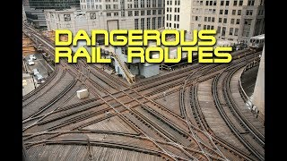 Top 5 Dangerous Rail Routes in the World!