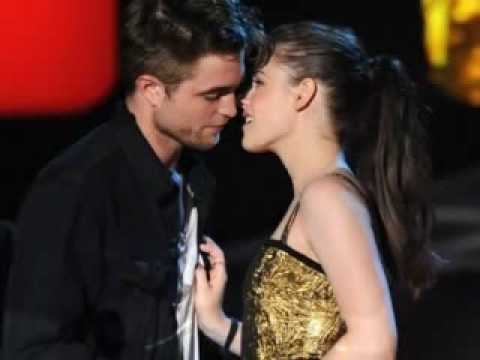 Rob Pattinson Kristen Stewart Kiss