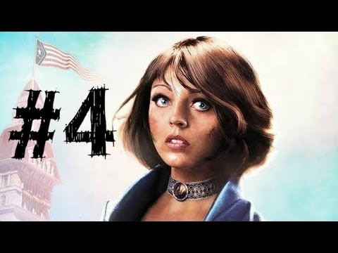 Bioshock Infinite Gameplay Walkthrough Part 4 - Murder of Crows - Chapter 4