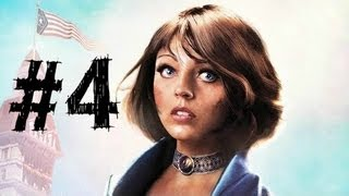 Bioshock Infinite Gameplay Walkthrough Part 4 - Murder of Crows - Chapter 4