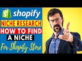 How To Find A Niche For Shopify Dropshipping Store