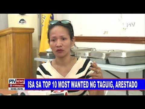 Isa sa top 10 most wanted ng Taguig, arestado