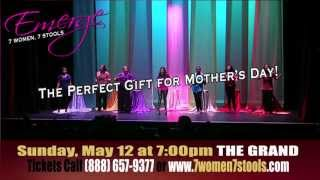 Emerge 7 Women 7 Stools Long Beach CA 2013 Official Commercial