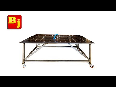 How to Build a Flat Welding Table