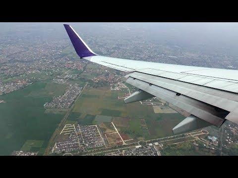 [HD] Batik Air flight from Lombok to Jakarta HLP with wonderful views - 14/09/2016