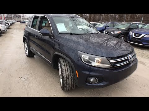 2016 Volkswagen Tiguan Chicago, Matteson, Oak Lawn, Orland Park, Countryside IL P11723