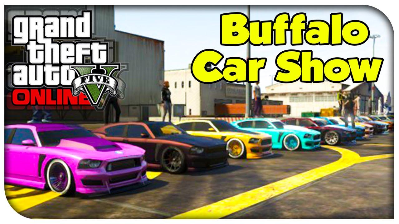 GTA Online CAR SHOWCASE Franklins Buffalo GTA V YouTube - Buffalo car show