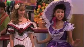 Brenda Song Sitting Down In A Hoopskirt - The Suite Life On Deck (S03 Ep11, 2010)