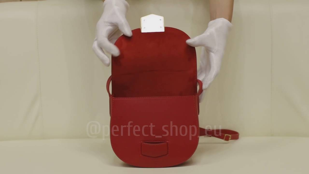 Celine Small Trotteur Shoulder Bag EU - YouTube 00568e95b6905