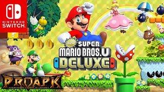 [Nintendo Switch] New Super Mario Bros. U Deluxe Gameplay (by Nintendo)